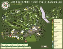 Lancaster Map 3 Great Vantage Points To Watch U S Women U0027s Open At Lancaster