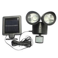 Solar Powered Motion Sensor Outdoor Light by Solar Powered Led Motion Detector Security Light
