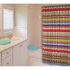 Walmart Com Shower Curtains Kids Shower Curtains Catalina Stripe Shower Curtain Kids