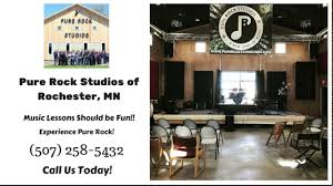 pure rock studios of rochester mn 5 star review music lessons