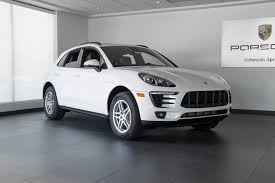porsche macan 4 cylinder price 2018 porsche macan 4 cylinder for sale in colorado springs co