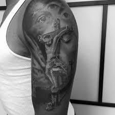 Jesus Cross Tattoos On - 60 jesus arm designs for religious ink ideas