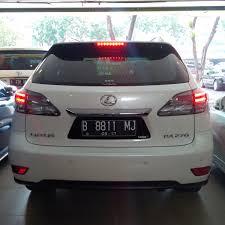 lexus mobil mobil bekas lexus rx 270 hongkong th 12 at