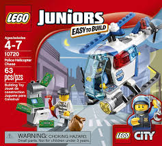 amazon com lego police helicopter chase 10720 toys u0026 games