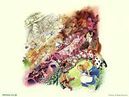 alice wonderland cartoon wallpapers awesome alice