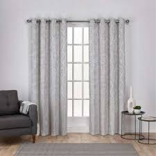 Grey Room Curtains Gray Curtains Drapes Window Treatments The Home Depot