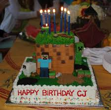 minecraft birthday cake ideas 17 of the coolest minecraft birthday cakes created