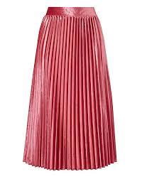 pleated skirt velour pleated skirt simply be