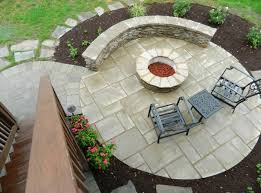 Deck With Patio by Patio Under Deck With Separate Firepit Patio Contemporary