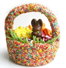 easter basket edible easter basket cereal easter basket how to