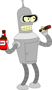 cartoon beer no background bender png image png mart