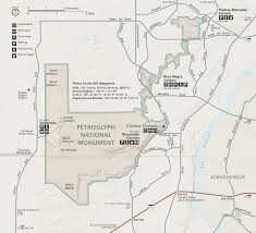 New Mexico Road Closures Map by Directions Petroglyph National Monument U S National Park Service