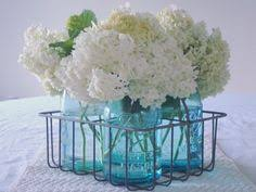 Ball Jar Centerpieces by Small And Simple Decorating Details Ball Mason Jars Country