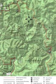Fall Creek Falls Map Takahik River Valley Hikers