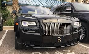 rolls royce outside 2017 rolls royce black badge ghost ii 22 photos inside and out