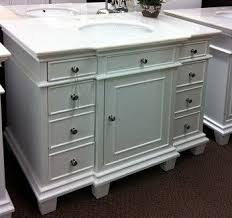 42 Inch Bathroom Vanities by Great 42 Inch Single Sink Bathroom Vanity With Marble Top In White