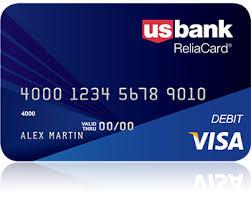 bank prepaid cards usbank reliacard