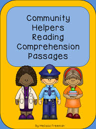 this package contains 17 reading passages about community helpers
