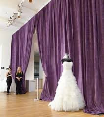pipe and drape rental nyc rent pipe drape purple drape rental tradeshow backdrapes