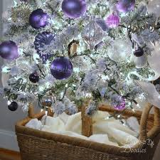 purple and white decorations rainforest islands ferry