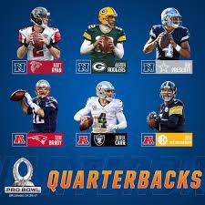 Pro Bowl Orlando by 2017 Pro Bowl Qb Picks Nfl Rush