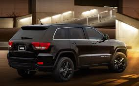 jeep grand cherokee blackout jeep introduces altitude special edition grand cherokee compass