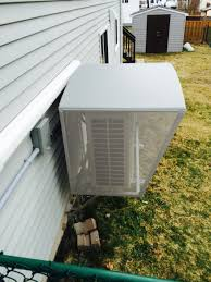 mitsubishi mini split install ductless heat pump covers and shelters