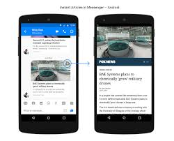 android preview messenger intros zippy instant articles preview within the android