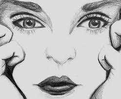 woman sketch by nahmala on deviantart