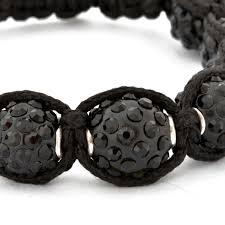 shamballa beads bracelet images Black shamballa bracelet maruti beads jpg