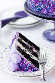 galaxy cake 3 layers of black velvet cake fluffy cream cheese