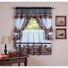 French Country Curtains Waverly by Kitchen Superb White Country Curtains Valance Curtains Plum