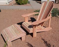 Redwood Adirondack Chair Classic Collection Western Cedar Adirondack Chairs Footstools