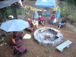Fire Pit Rotisserie by Mediterranean Cookout Evolution Of Our Fire Pits