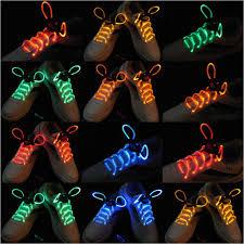 led shoelaces l e d shoelaces in assorted colors 5 pairs
