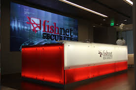 Security Front Desk Christie Technology Assists Fishnet Security With High Level