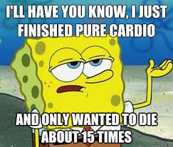 Cardio Meme - cardio for people that hate doing cardio smoot fitness