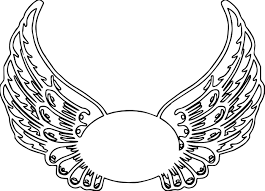 coloring pages of angels with wings virtren com