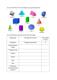 15 nets for 3d shapes by eric t viking teaching resources tes
