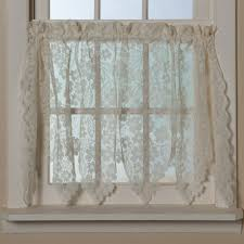 Cheap Cafe Curtains Curtains Awesome Macrame Lace Curtains These Curtains Feature