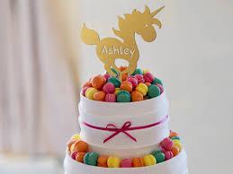 unicorn cake topper birthday cake topper unicorn cake topper name cake topper gold