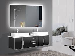dimmable lighted mirror acrylic 60 x 36 light bathroom led