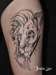 lion head tattoos best lion face design ideas 2017