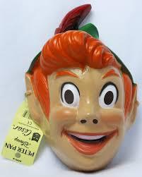 vintage walt disney peter pan halloween mask 1980 u0027s 80 u0027s cesar