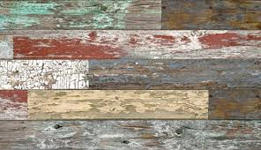 mixed painted wood plank textured slatwall panels