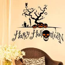 online get cheap holiday wall aliexpress com alibaba group halloween pumpkin decorations wall stickers halloween wall stickers shop holiday party window stickers autocolante espelho ey11