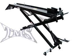 motorcycle lift table plans hydraulic scissor lift table plans diy motorcycle bike lift how to