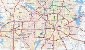 fort worth map dallas fort worth map my