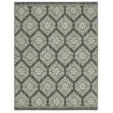 Mohawk Home Accent Rug Home Decorators Collection Taurus Grey Cream 10 Ft X 13 Ft Area