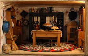 Dollhouse Kitchen Furniture Living Little The Miniature World Of Dollhouses Hannah U0027s